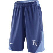 Nike Men's Kansas City Royals Dri-FIT Authentic Collection Royal Performance Knit Shorts