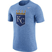Nike Men's Kansas City Royals Marled Light Blue T-Shirt