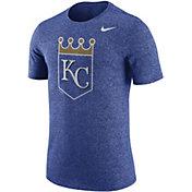 Nike Men's Kansas City Royals Marled Royal T-Shirt