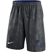 Nike Men's Kansas City Royals Dri-FIT Grey Knit Shorts