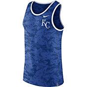 Nike Men's Kansas City Royals Dri-Blend Premium Royal Tank Top