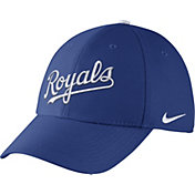 Nike Men's Kansas City Royals Dri-FIT Royal Legacy 91 Swoosh Flex Hat