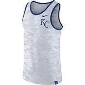 Nike Men's Kansas City Royals Dri-Blend Premium White Tank Top