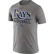 Nike Men's Tampa Bay Rays Practice Grey T-Shirt