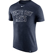 Nike Men's Tampa Bay Rays Dri-Blend Navy DNA T-Shirt