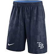 Nike Men's Tampa Bay Rays Dri-FIT Navy Knit Shorts