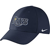 Nike Men's Tampa Bay Rays Dri-FIT Navy Legacy 91 Swoosh Flex Hat