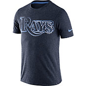 Nike Men's Tampa Bay Rays Marled Navy T-Shirt