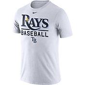 Nike Men's Tampa Bay Rays Practice White T-Shirt