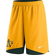 Nike Men's Oakland Athletics Dri-FIT Authentic Collection Gold Performance Shorts