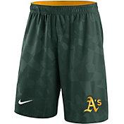 Nike Men's Oakland Athletics Dri-FIT Green Knit Shorts
