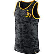 Nike Men's Oakland Athletics Dri-Blend Premium Grey Tank Top