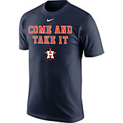 """Nike Men's Houston Astros """"Come and Take It"""" Navy T-Shirt"""