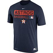 Nike Men's Houston Astros Dri-FIT Authentic Collection Navy Legend T-Shirt