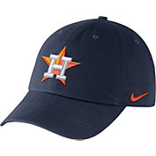 Nike Men's Houston Astros Dri-FIT Navy Heritage 86 Stadium Adjustable Hat
