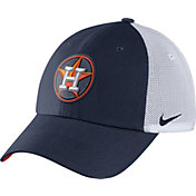 Nike Men's Houston Astros Dri-FIT Navy/White Heritage 86 Adjustable Hat