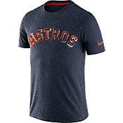 Nike Men's Houston Astros Marled Navy T-Shirt