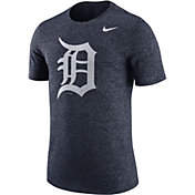 Nike Men's Detroit Tigers Marled Navy T-Shirt