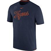 Nike Men's Detroit Tigers Dri-FIT Navy Debossed Logo Legend T-Shirt
