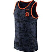 Nike Men's Detroit Tigers Dri-Blend Premium Navy Tank Top