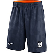 Nike Men's Detroit Tigers Dri-FIT Navy Knit Shorts