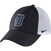 Nike Men's Detroit Tigers Dri-FIT Navy/White Heritage 86 Adjustable Hat