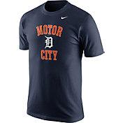 "Nike Men's Detroit Tigers ""Motor City"" Navy T-Shirt"