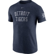 Nike Men's Detroit Tigers DNA Tri-Blend Heathered Navy T-Shirt