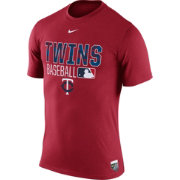 Nike Men's Minnesota Twins Dri-FIT Authentic Collection Red Legend T-Shirt