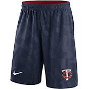 Nike Men's Minnesota Twins Dri-FIT Navy Knit Shorts