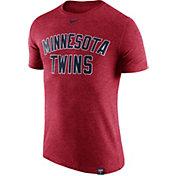 Nike Men's Minnesota Twins Dri-Blend Red DNA T-Shirt