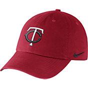 Nike Men's Minnesota Twins Dri-FIT Red Heritage 86 Stadium Adjustable Hat