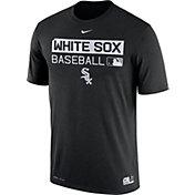 Nike Men's Chicago White Sox Dri-FIT Authentic Collection Black Legend T-Shirt