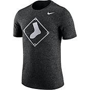 Nike Men's Chicago White Sox Marled Black T-Shirt