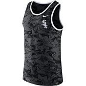 Nike Men's Chicago White Sox Dri-Blend Premium Grey Tank Top