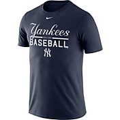 Nike Men's New York Yankees Practice Navy T-Shirt