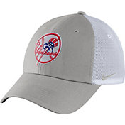 Nike Men's New York Yankees Dri-FIT Grey/White Heritage 86 Adjustable Hat