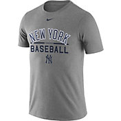 Nike Men's New York Yankees Practice Grey T-Shirt