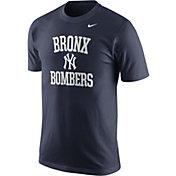 """Nike Men's New York Yankees """"Bronx Bombers"""" Navy T-Shirt"""