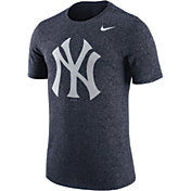 Nike Men's New York Yankees Marled Navy T-Shirt
