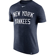 Nike Men's New York Yankees Dri-Blend Navy DNA T-Shirt