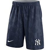 Nike Men's New York Yankees Dri-FIT Navy Knit Shorts