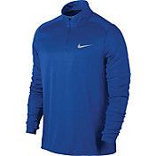 Nike Men's Dry Miler Half Zip Long Sleeve Running Shirt