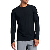 Nike Men's Breathe Elite Long Sleeve Basketball Shirt