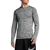 Nike Men's Dri-FIT Knit Long Sleeve Running Shirt