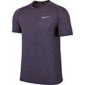 Nike Men's Dry Knit Short Sleeve Printed Running Shirt