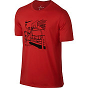 Nike Men's Dry Hoop Draw Graphic T-Shirt