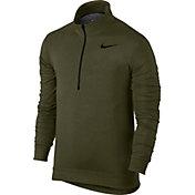 Nike Men's Dry Fleece Quarter Zip Shirt