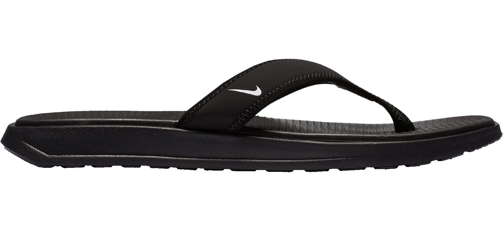 Product Image · Nike Men's Celso Ultra Thong Flip Flops. Black/White