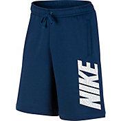 Nike Men's Sportswear Fleece Graphic Shorts